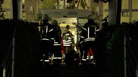 Klinikbrand in Bad Hersfeld.
