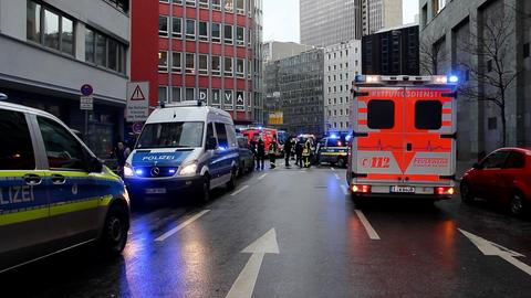 Messerattacke in Frankfurt