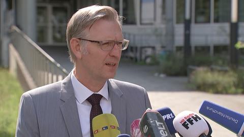 Pressekonferenz in Darmstadt