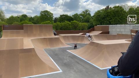 Skatepark in Darmstadt