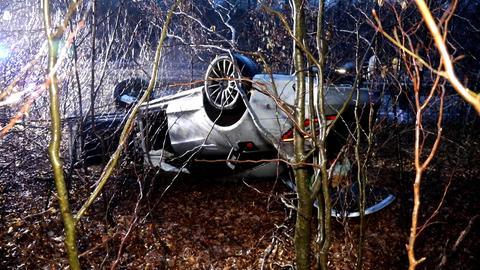 Unfall bei Alsfeld