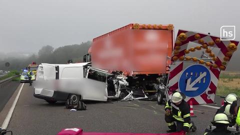 Tödlicher Unfall bei Alsfeld.