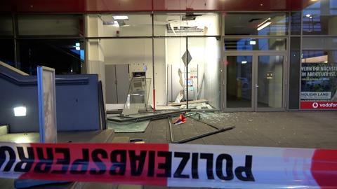 Geldautomat in Fulda gesprengt.