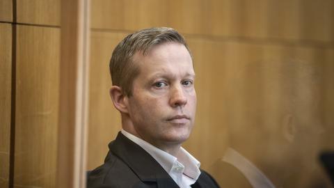 Der Hauptangeklagte Stephan Ernst am dritten Prozesstag