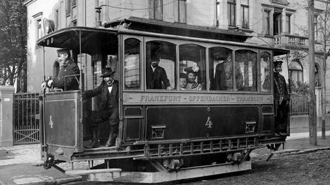Elektrischen Straßenbahn
