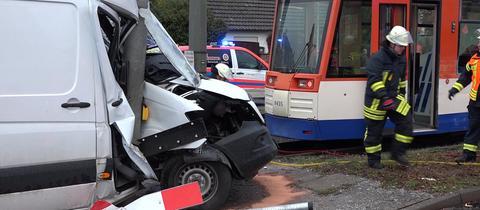 Straßenbahnunglück Darmstadt
