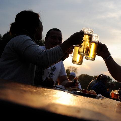 Bier Biergarten Gastronomie Sujet