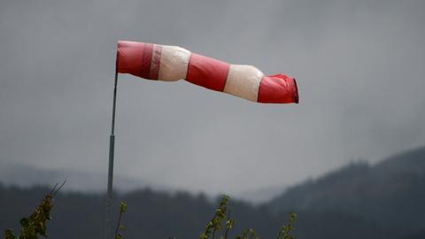 Stürmisches Wetter in Nordhessen