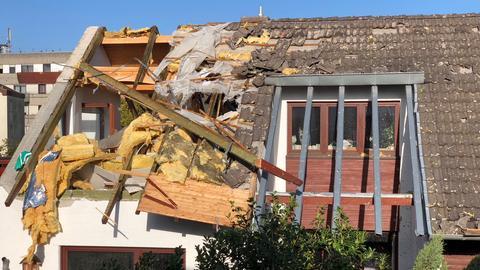 Abgedecktes Dach in Nauheim