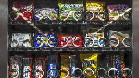 Süßigkeitenautomaten