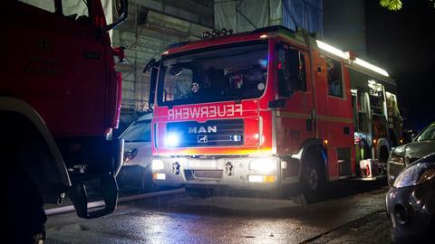 Feuerwehrauto im Einsatz