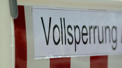 Sujet Vollsperrung Autobahn