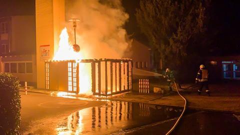 Feuerwehreinsatz in Sulzbach