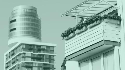 Was darf's sein: Luxuswohnung im Henninger Turm oder doch eher klassisch? Teuer sind Wohnungen in Frankfurt so oder so.