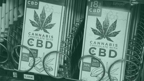 Cannabis-Schoko am Darmstädter Südbahnhof
