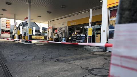 Shell-Tankstelle in Nidderau