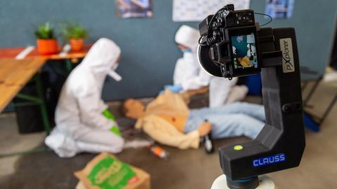 Kamera für Tatort-Arbeit