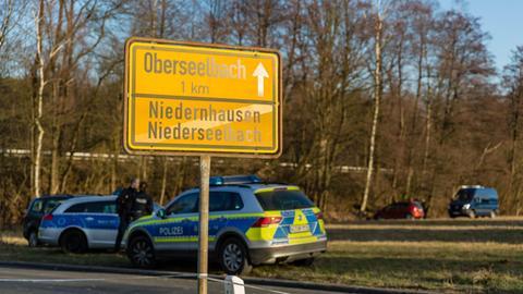 Niederseelbach im Taunus: Fundort der Leichen.