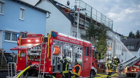 Feuerwehreinsatz in Taunusstein