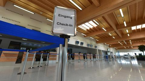 Terminal im Kassel Airport