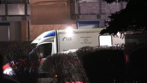 Rettungswagen am Tatort