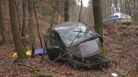 20-Jährige stirbt bei Unfall in der Wetterau