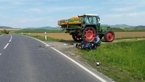 Tödlicher Verkehrsunfall bei Fritzlar