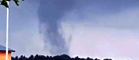 Der Tornado über Linden