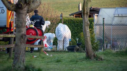 Tatort Kleingartenanlage in Alsfeld
