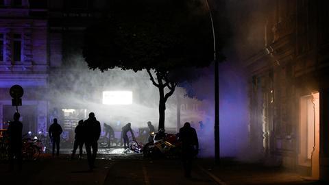 Hessische Polizisten bei Krawallen in Hamburg verletzt
