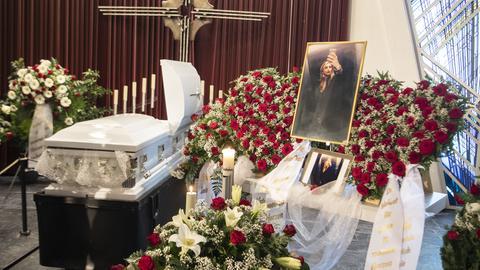 In Offenbach fand am Montag die Beerdigung von Mercedes Kierpacz statt.