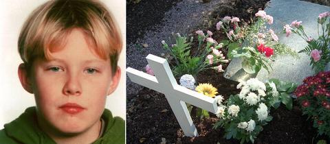 Tristan B/ Grab auf den Friedhof Höchst