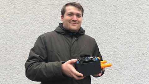 Tunnelbau-Forscher Adrian Fleck aus Fulda