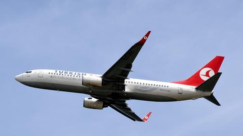 Boeing 737 der Turkish Airlines