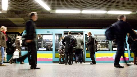 Frankfurter U-Bahn (Archivbild)