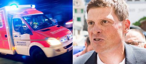 Krankenwagen, Jan Ullrich