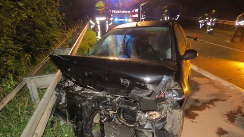Unfallwagen auf B3