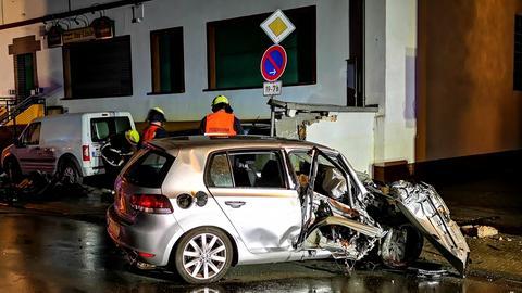 Unfall Auto Erzhausen