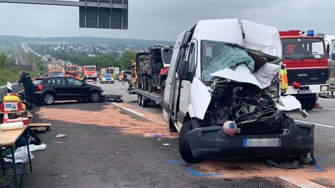 Unfall A3 Limburg