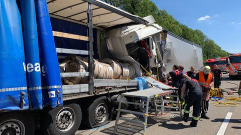 Lkw-Unfall auf der A3