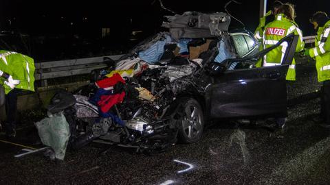 Tödlicher Unfall auf der A3 bei Wiesbaden