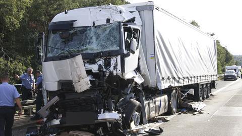 Der Unfall auf der A7