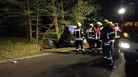 Unfall auf der L3477 bei Ober-Ramstadt