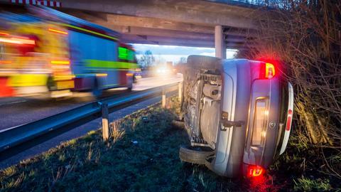 Unfall A661