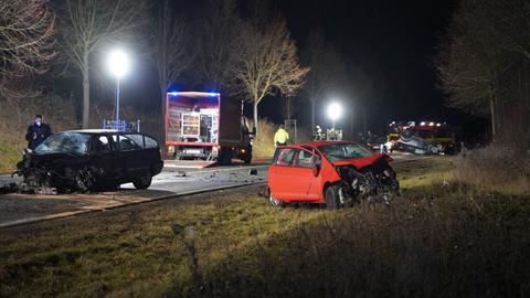 Unfallstelle bei Bad Homburg