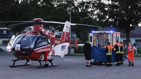Unfallstelle in Bensheim