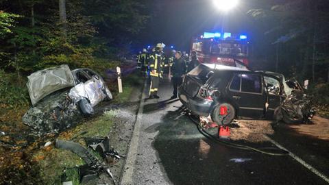 Die Unfallstelle in Breuna