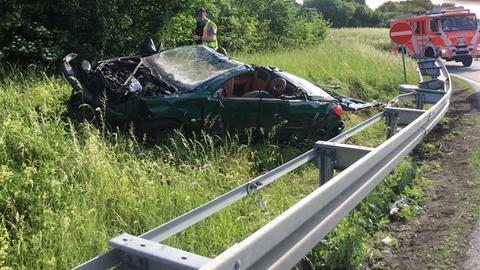 Unfall A63 Gestern
