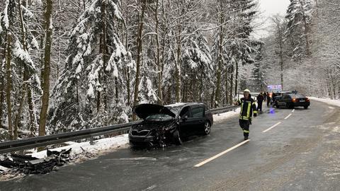 Unfall am Feldberg