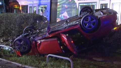 Unfall in Frankfurt